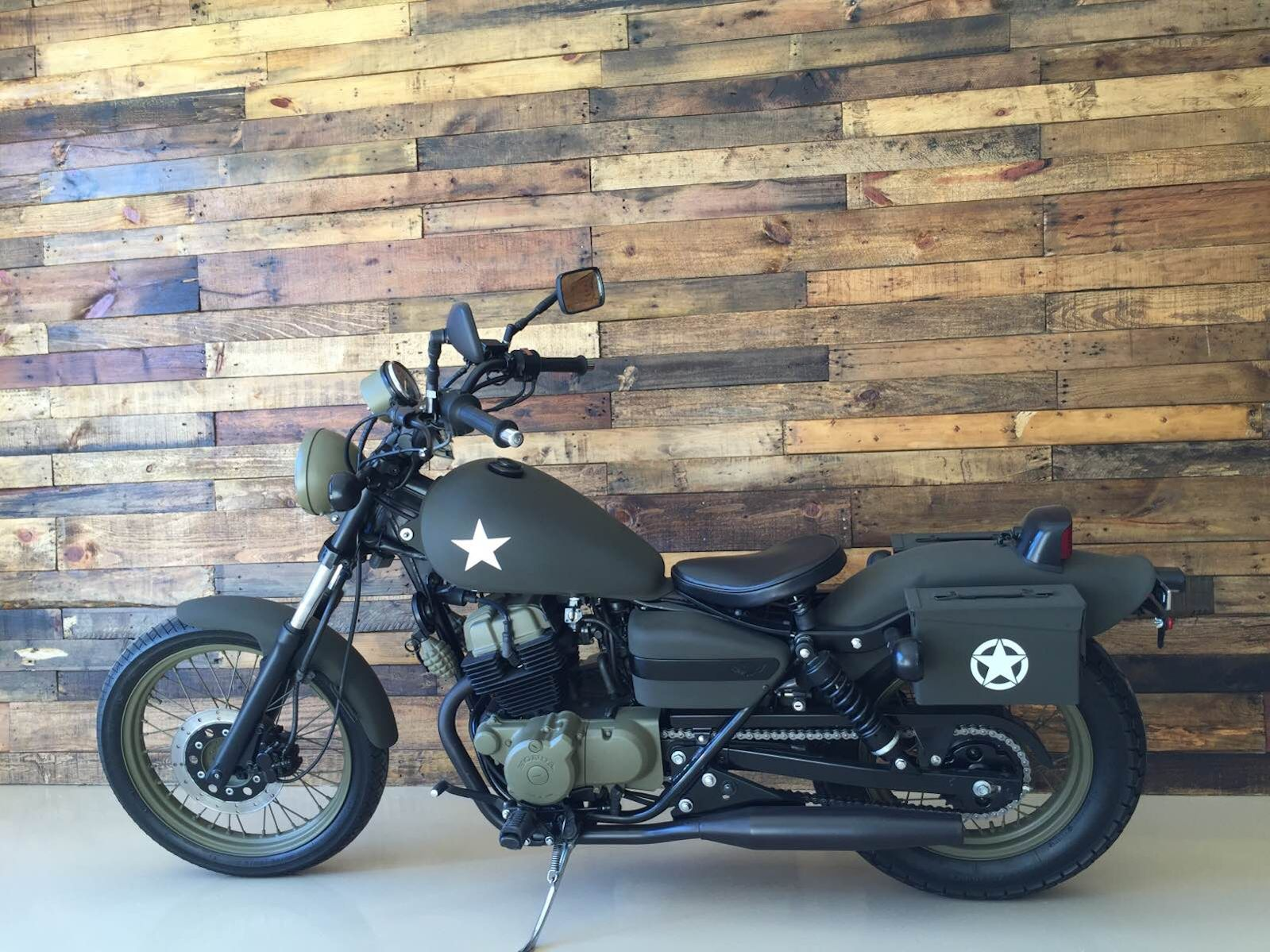 Army Motorcycle