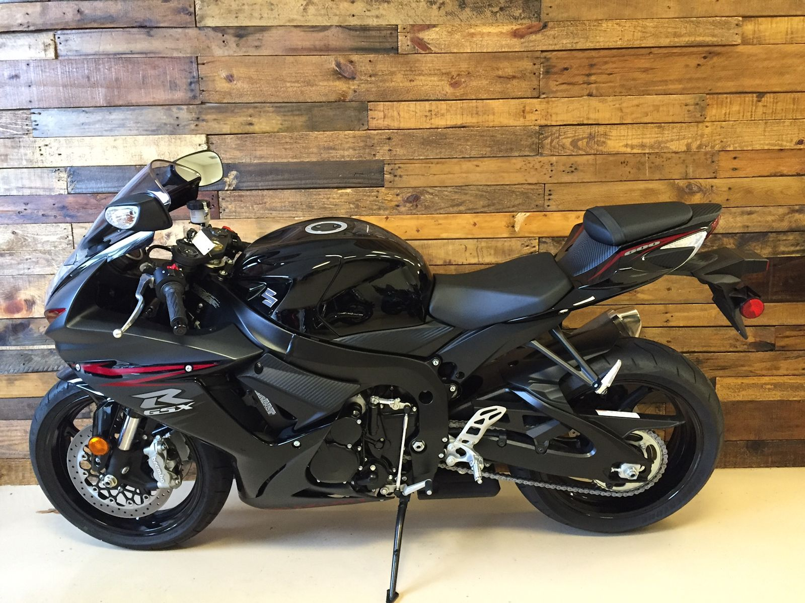 GSX Sport Bike Black and Red