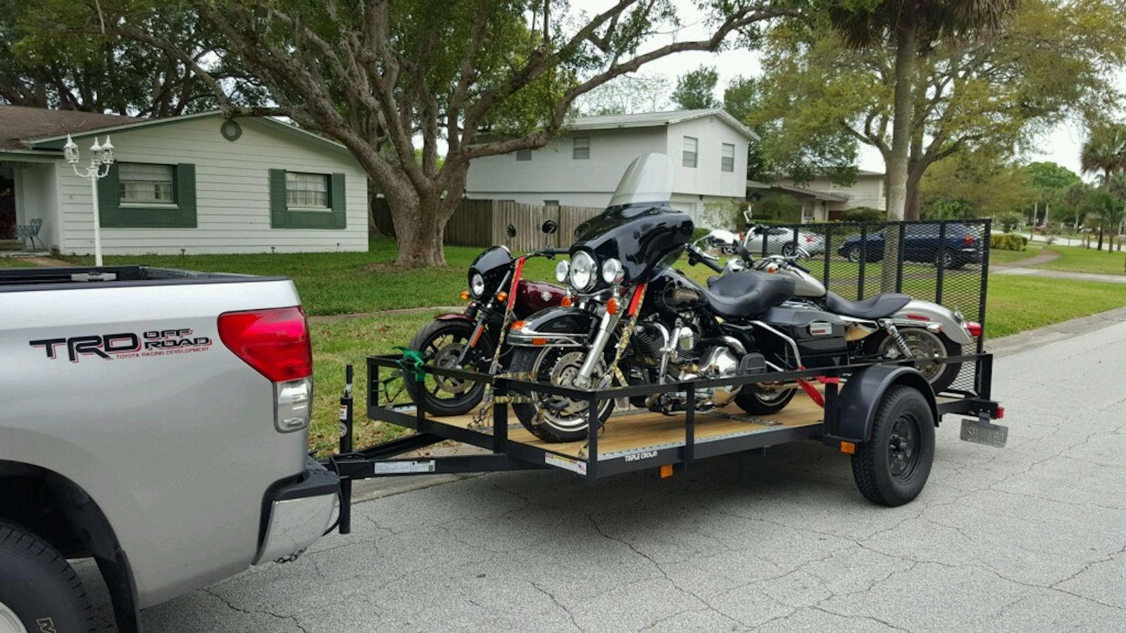 3 Motorcycles Bought